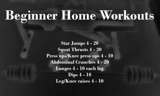 Beginner Home Workouts