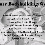 Beginner Bodybuilding Workout