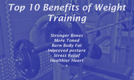 Top 10 Benefits of Weight Training