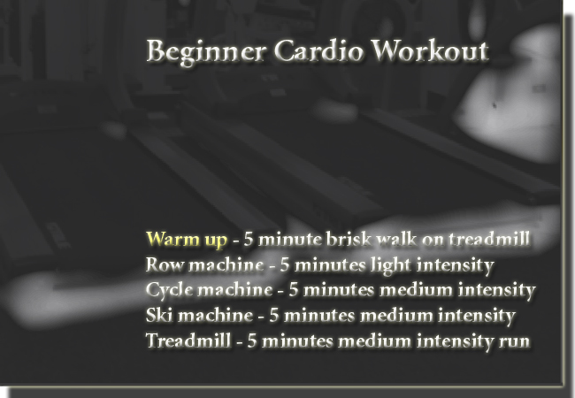 Simple Cardio Workout Routine
