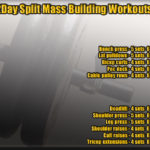 2Day split mass building workout routine