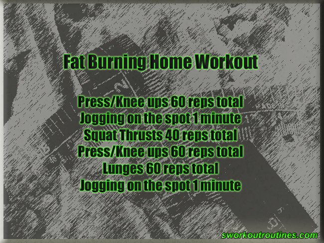 Simple Free Fat Burning Home Workout.